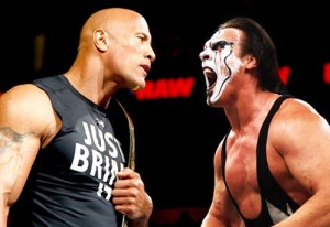 Sting vs. The Rock