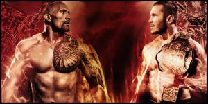 The Rock vs. Randy Orton