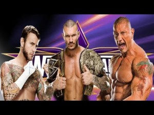 CM Punk vs. Randy Orton vs. Batista