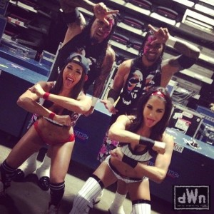 The Usos and The Bella Twins