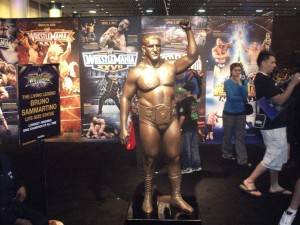 Bruno Sammartino Statue 2
